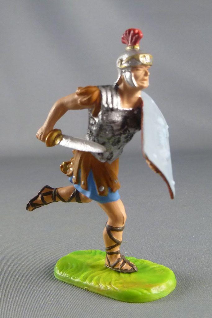 Elastolin Preiser - Romains - Piéton combattant chargeant avec glaive (réf 8420)