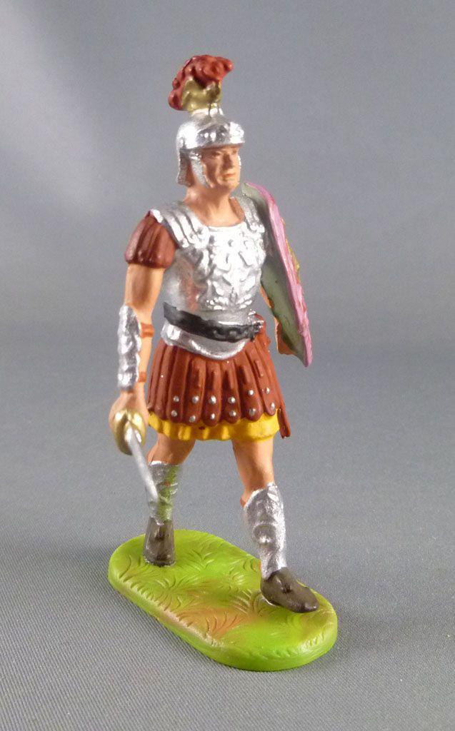 Elastolin Preiser - Romains - Piéton défilant glaive (réf 8402)
