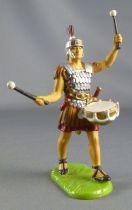 Elastolin Preiser - Romains - Piéton défilant tambour (réf 8406)