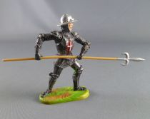 Elastolin Preiser - XV / XVIII century - Swiss Guard Footed attackng with pike (ref 8935)