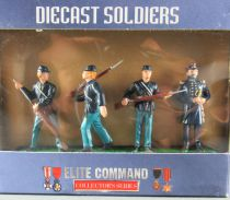 Elite Command 34141 - 4 DieCast Metal 60mm Figures - General Ulysses S. Grant US Army Mint in Box