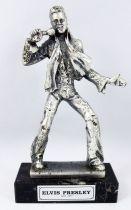 "Elvis Presley - 6\"" die-cast métal statue - Daviland France 1978"