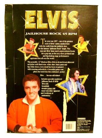 Elvis Presley - Hasbro Commemorative Collection - Jailhouse Rock 45 rpm