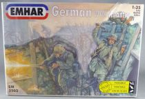 Emhar EM 3503 - 54mm 1/35 - WW2 - Boite de 12 Infanterie Allemande