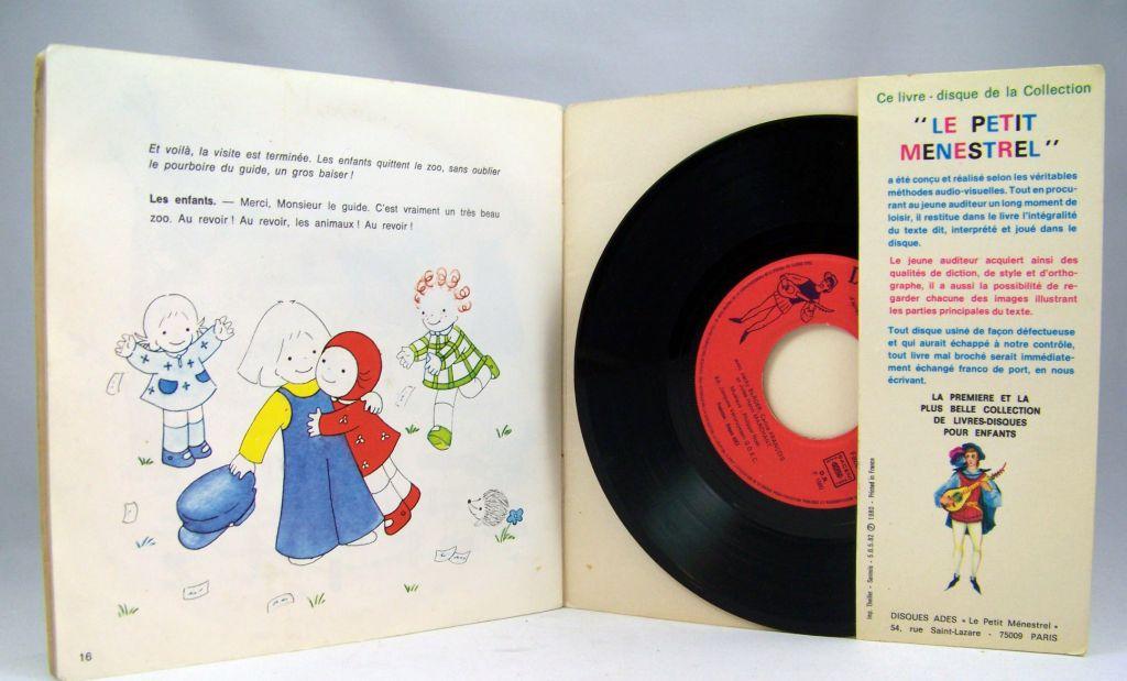 Emilie - Disque histoire racontée 45T - Disque Ades 1979 02