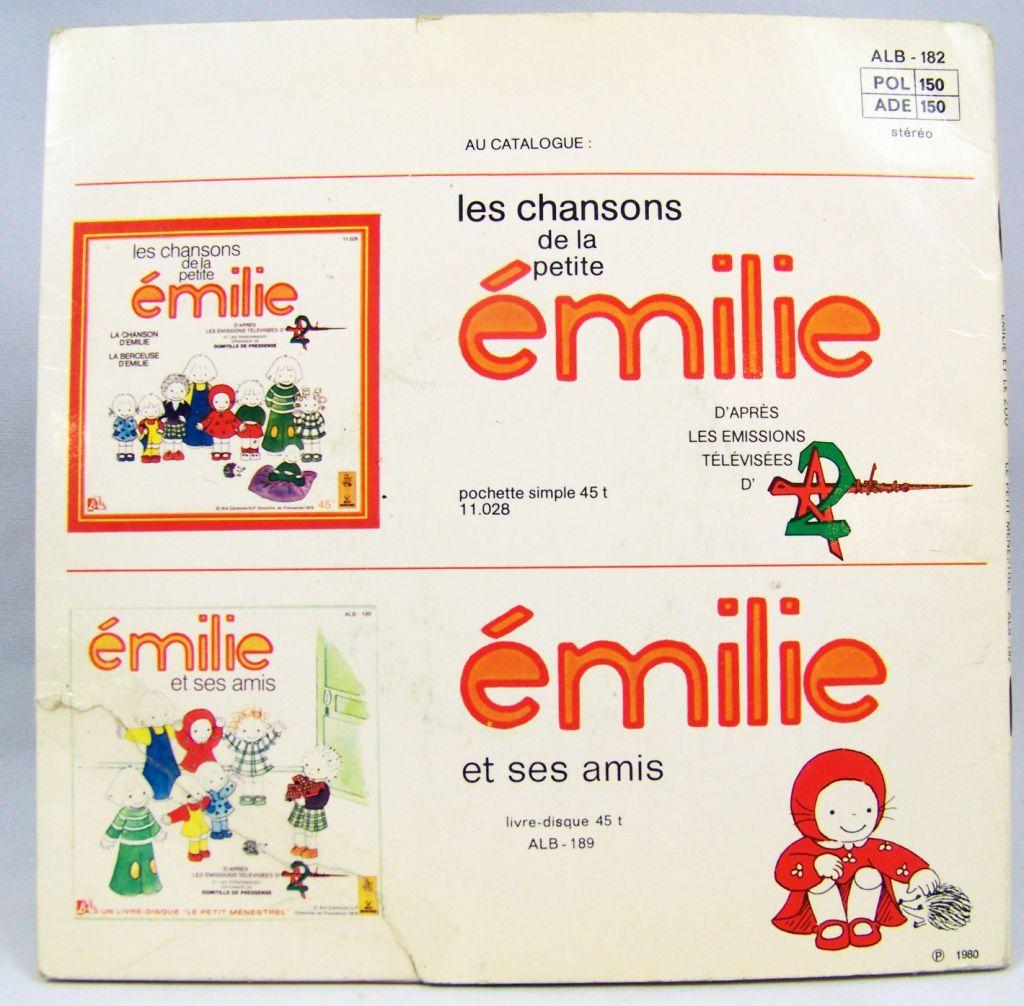 Emilie - Disque histoire racontée 45T - Disque Ades 1979 03