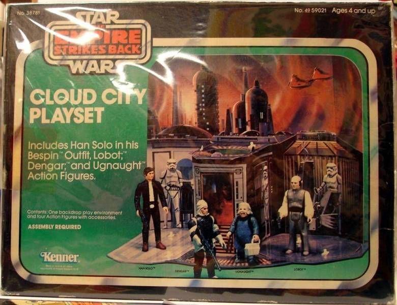 Empire strikes back 1980 - Cloud City Playset