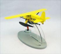 En Avion Tintin - Editions Hachette - 001 L\'hydravion jaune du Crabe aux pinces d\'or 02