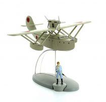 En Avion Tintin - Editions Hachette - 038 L\'Hydravion Américain (L'Éruption du Karamako)