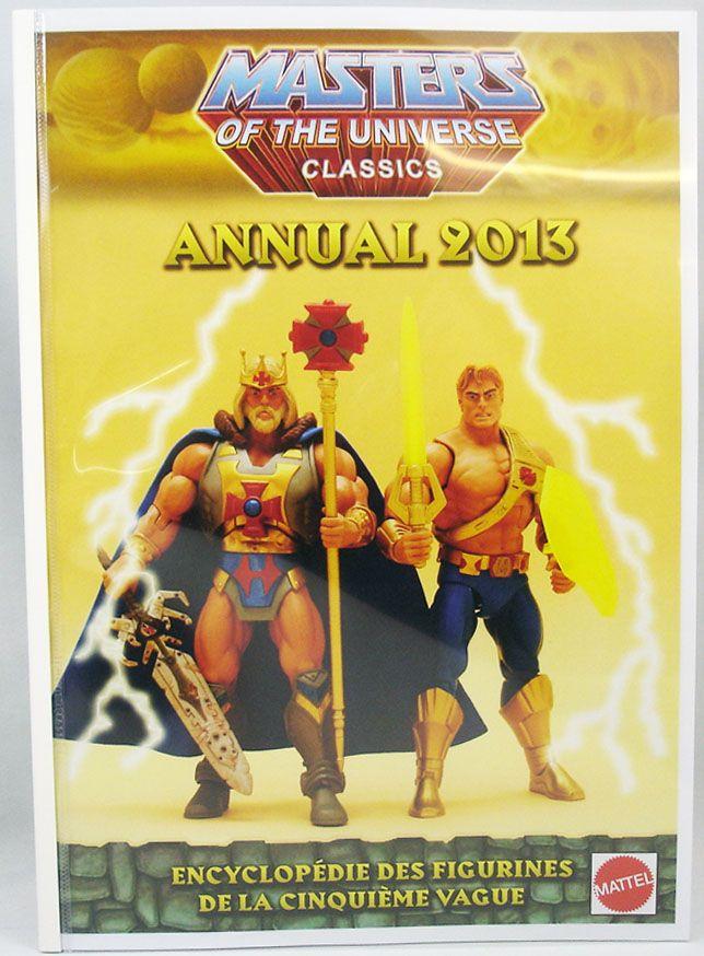 2019 Ultimo Disegno Encyclopédie Non-officielle Des Figurines Motu Classics - Vol.5 : Annual 2013