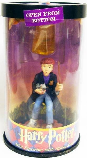 Enesco - Mini Figurine with Story Scope - Ron Weasley