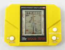 Epoch - Handheld Game Mini Size - Mr. Wood Man (occasion)