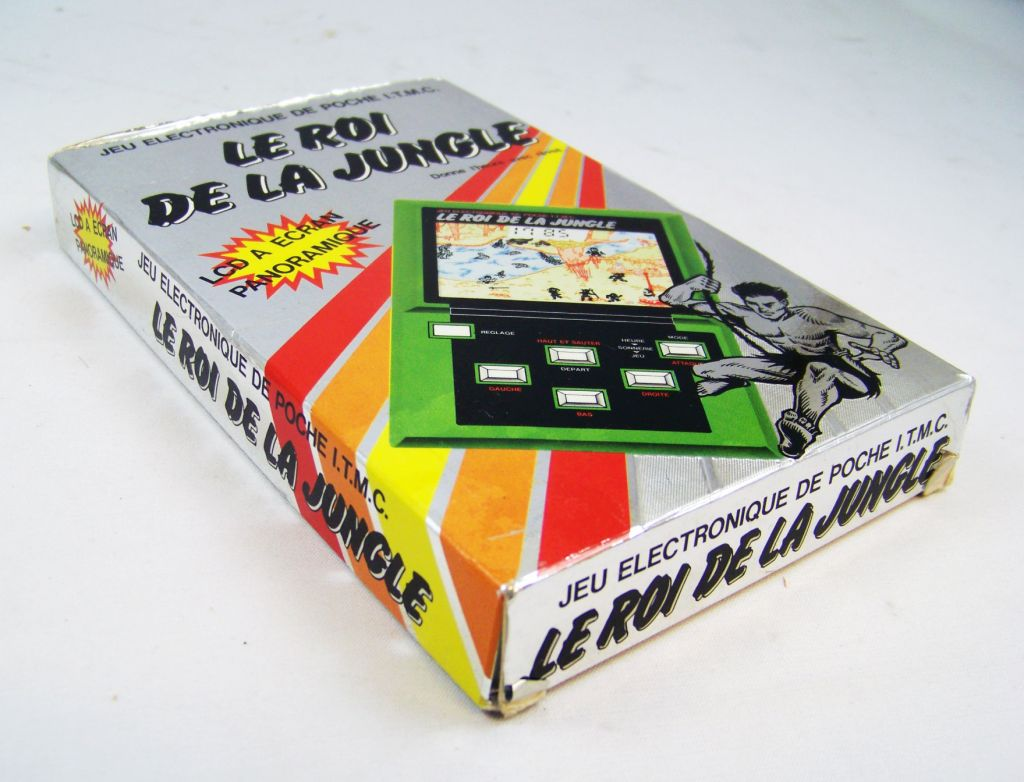 Epoch (ITMC) - Handheld Game Panorama Size - Le Roi de la Jungle (en boite) 02