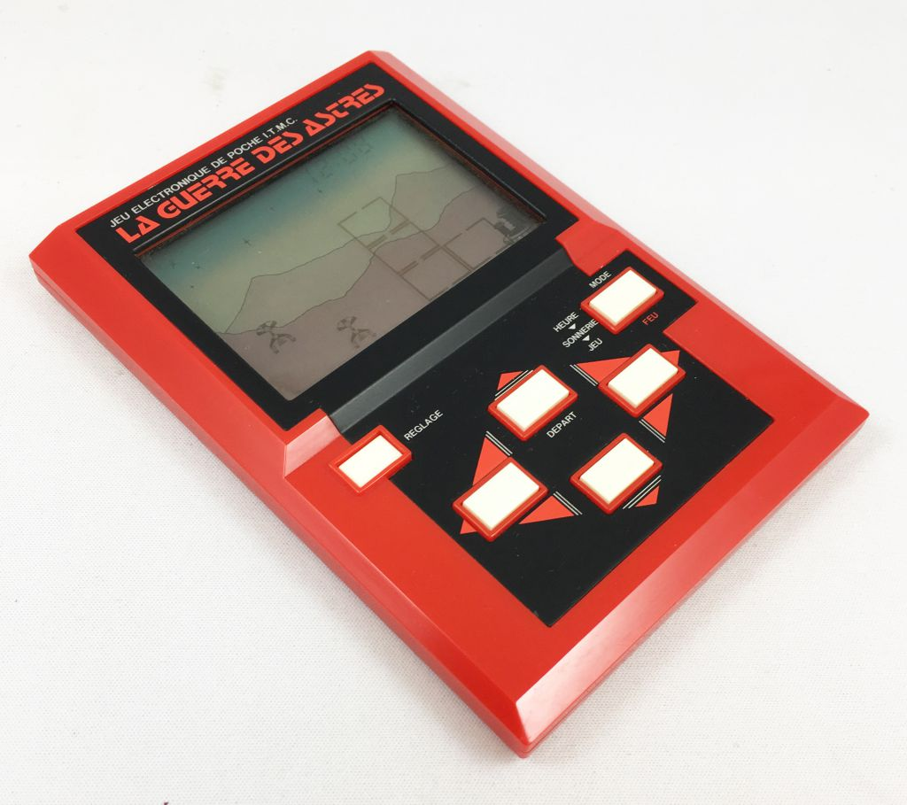 Epoch (ITMC) - Handheld Game Panorama Size - Scramble (mint in box)