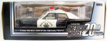 ERTL Collectibles American 1974 Dodge Monaco California Highway Patrol 1/18ème (Diecast Metal)