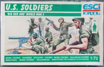Esci 202 - 1:72S Scale Soldiers - WW2 U.S. Soldiers Big Red One MIB