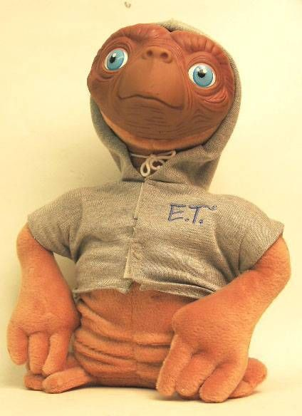 E.T. - Applause Plush - ET with hood