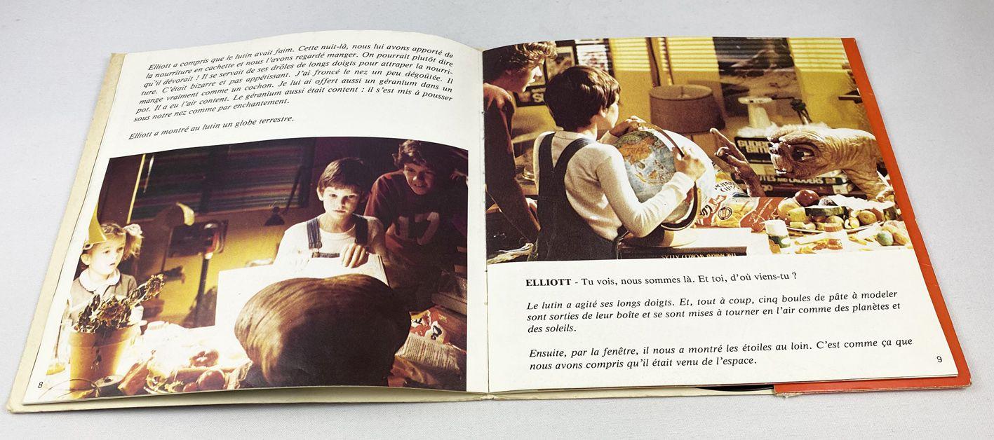 E.T. - Livre-Disque 45T - Le récit de Gertie (d\'après la version originale du Film avec Drew Barrymore) - Disque Ades 1982