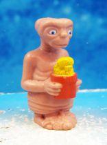 E.T. - LJN 1982 - Figurine PVC - E.T. avec fleurs