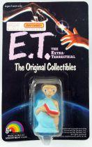 E.T. - LJN 1982 - PVC Figure - E.T with book (mint on card)
