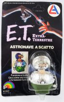 E.T. - LJN Ref 1244 - Pop-up Spaceship Wind-up (on Card)