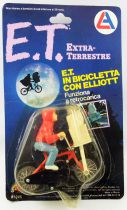 E.T. - LJN Ref 1245 - ET & Elliott on bicycle (on Card)