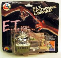 E.T. - LJN Ref 1248 - ET Spaceship Launcher Mint on Damage card