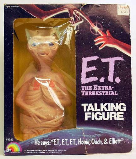 E.T. - LJN Ref 1253 - ET Pull Ring Mint in Box