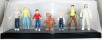 E.T. - Toys \'R\' Us Exclusive - Set of 7 figures on sound display