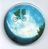 E.T. - Universal Studios E.T button E.T and Elliot bike