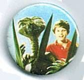 E.T. - Universal Studios E.T button E.T and Elliot house plant