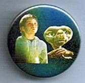 E.T. - Universal Studios E.T button E.T and Elliot