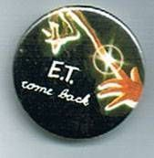 E.T. - Universal Studios E.T button E.T come back