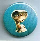 E.T. - Universal Studios E.T button E.T portrait