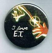 E.T. - Universal Studios E.T button I love E.T