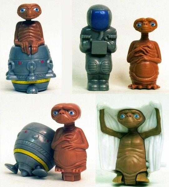E.T. (20ème Anniversaire) - Magic Box Quick Burger - Set de 4 Jouets Exclusifs 04