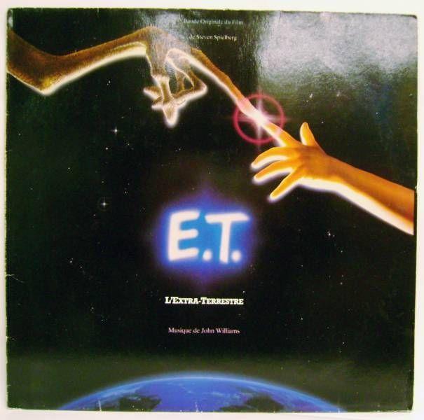 E.T. the  Extra-Terrestrial (French Original Motion Picture Soundtrack) - Record LP - MCA Records 1982
