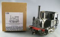 ETS 129 0 Gauge Cie de Fives Tin French Industrial Steam Loco 040 N°3 Black Livery Mint in Box