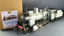 ETS 159 0 Gauge PO Tin French Steam Loco G5 2-6-0 N°1838 Grey & Black Livery Mint in Box