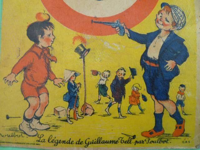 Eureka - Carte Cible La Légende de Guillaume Tell par Poulbot