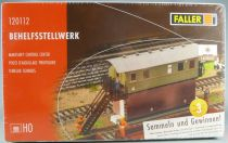 Faller 120112 Ho Makeshif Control Center 2 Assembly Possibility Mint in sealed box
