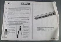 Faller 120193 Ho ICE Platform Station 634mm Mint in box