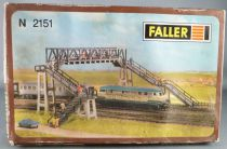 Faller 2151 N Scale Footbridge Partially Assembles with box