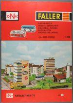 Faller 829D Ech N Catalogue 1969/70 Maquette Décors Tunnels Ponts Réseaux Système-N-Bus