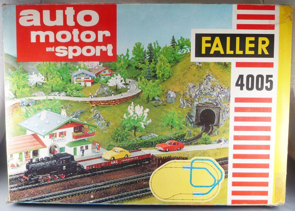 Faller AMS 4005 - Coffret Circuit Ford Capri Transbordement Train