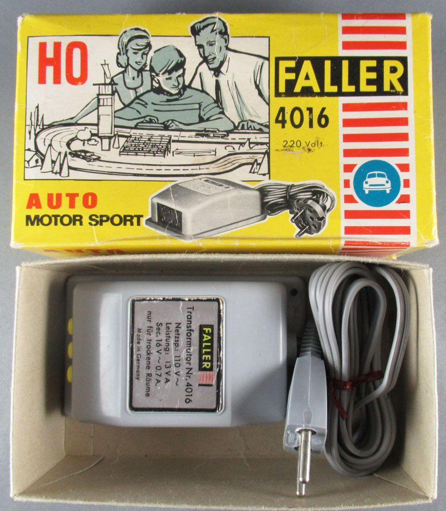 Faller AMS 4016 - Transformateur 110Va 13Va Sec 16v 0.7A en Boite
