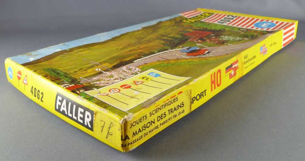 Faller AMS 4062 Ho Traffic Signs Mint in box