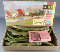 Faller AMS 4070 - Green Straight & Curved Embankment Sections Mint in Box