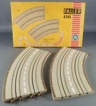 Faller AMS 4245 - 2 Virages 45° Piste Circuit Boite 2