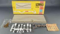 Faller AMS 4276 - 1 Piste Droite de Rétrécissement avec Chantier Circuit Neuf Boite